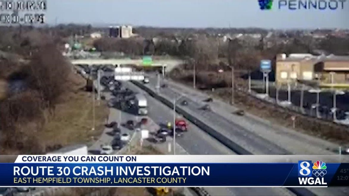 Man killed in crash on Route 30 in Lancaster County