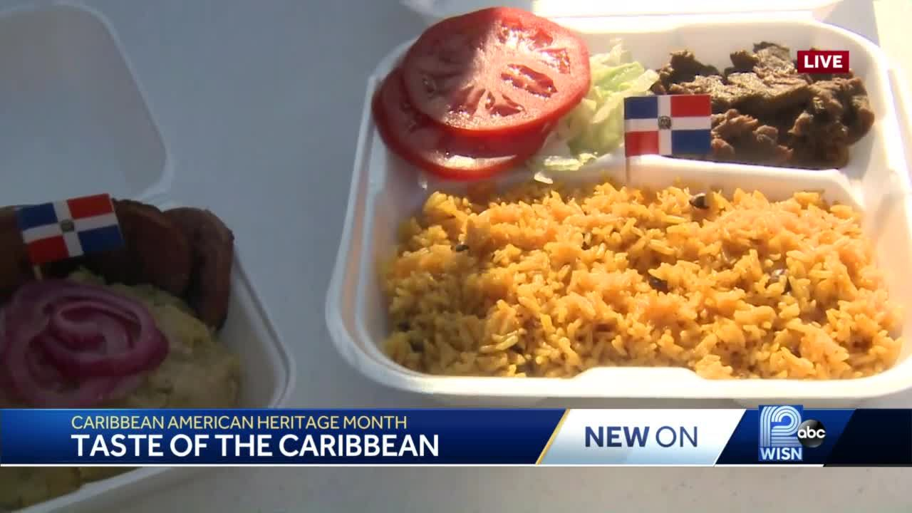 Food truck shares a taste of the Caribbean