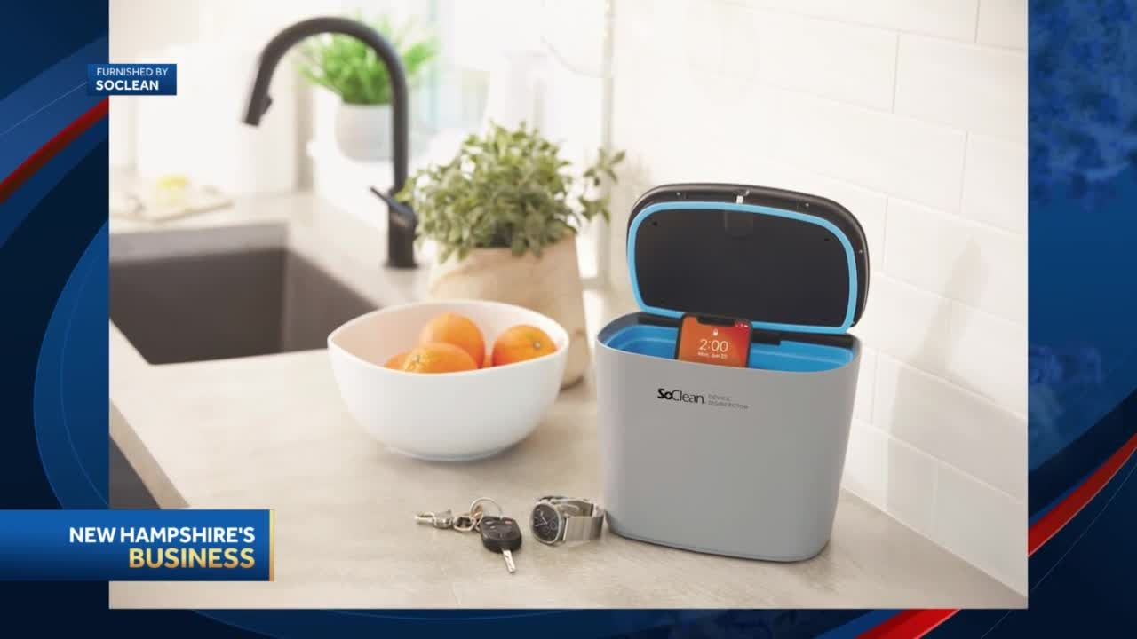Fast growing NH company makes devices to eliminate viruses, bacteria from personal items and home health equipment