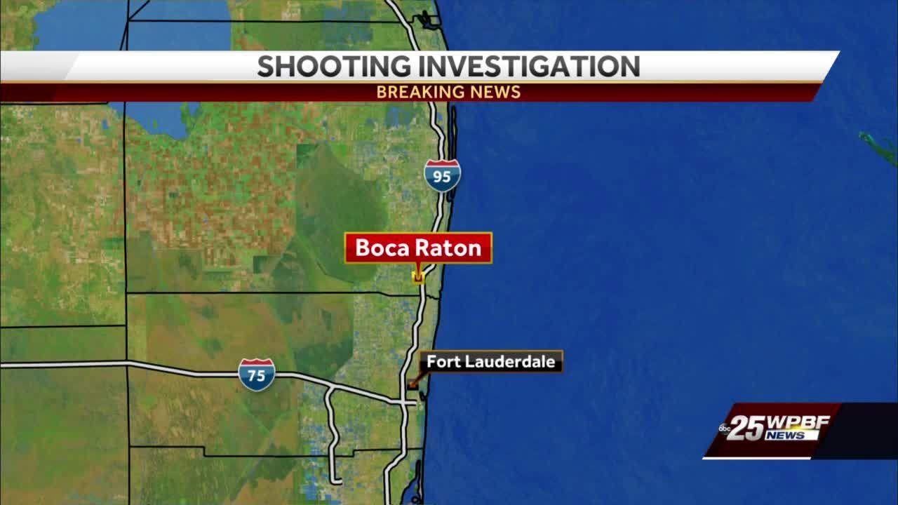 Boca Raton shooting suspect in custody, one person injured