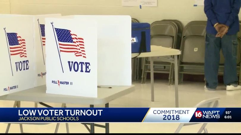 Low turnout for JPS bond issue