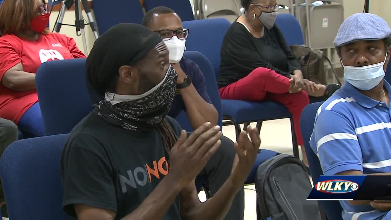 Q&A session in west Louisville aims to clear up concerns among Black community