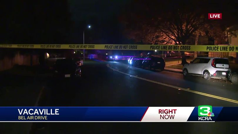 17-year-old killed in Vacaville shooting
