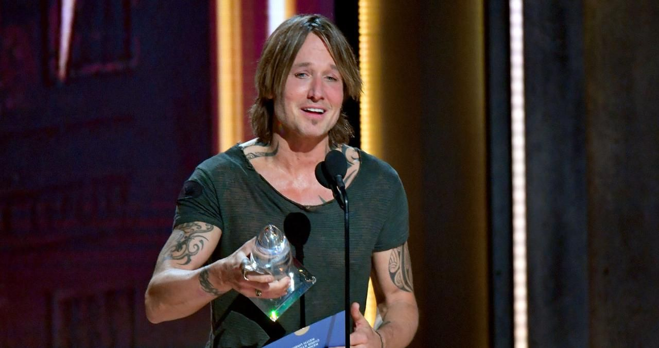 Keith Urban and Nicole Kidman Broke Down in Tears During His CMA Awards Speech for Entertainer of the Year