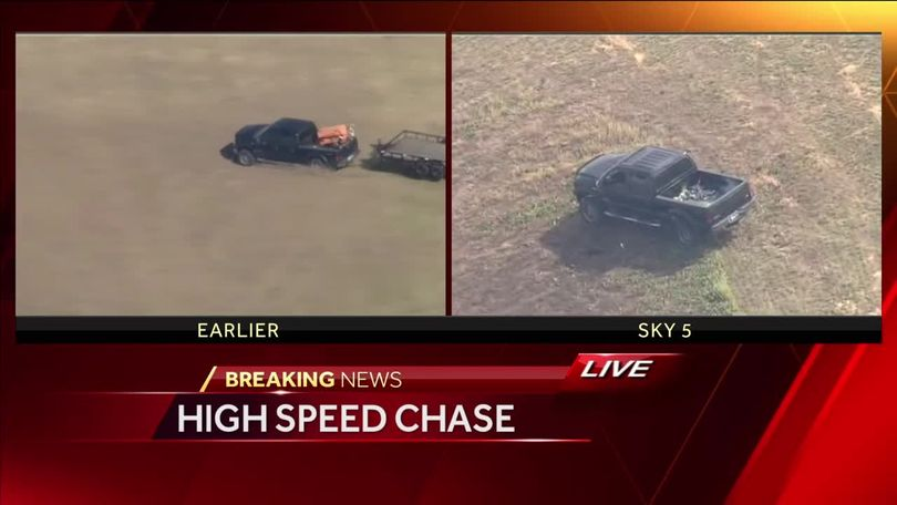 Dramatic High Speed Chase
