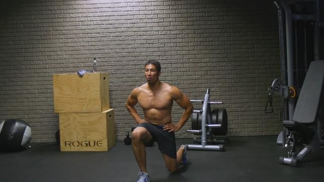 The Bodyweight Lunge Circuit You Can Do Absolutely Anywhere