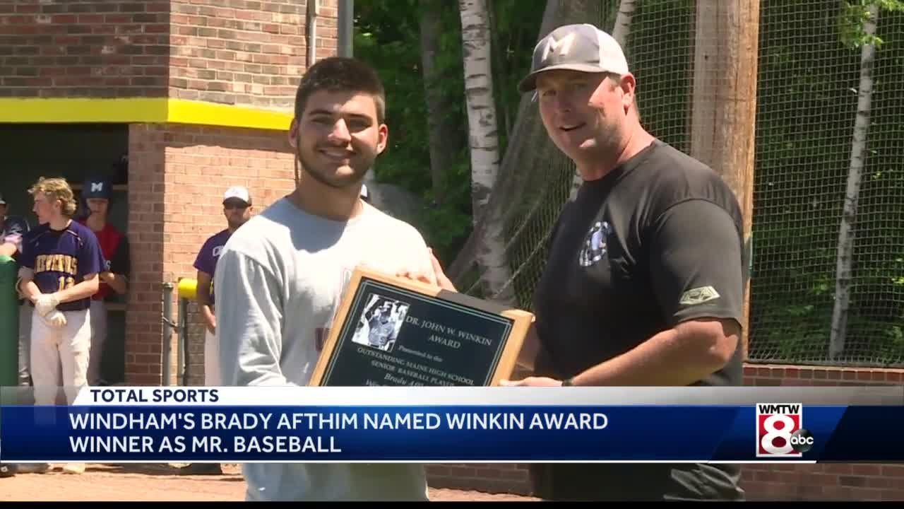 Brady Afthim wins Winkin Award