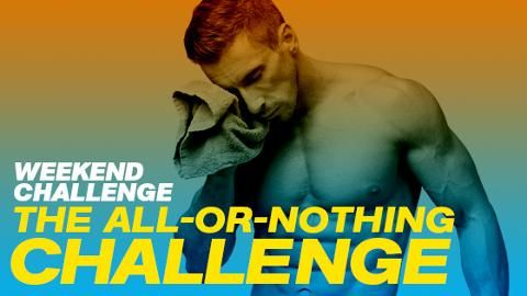 3 Exercises + 75 Reps = One Hellacious Fitness Challenge
