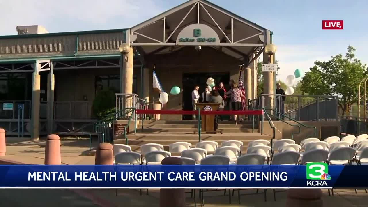 Mental Health Urgent Care Opens In West Sacramento