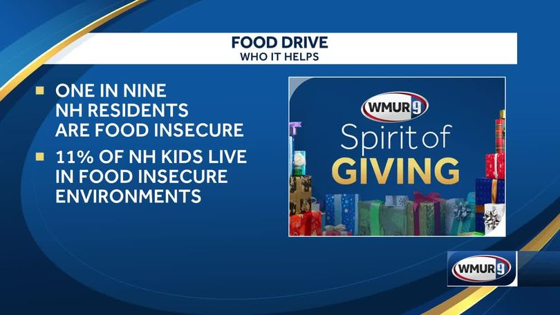 11 percent of NH kids live food-insecure