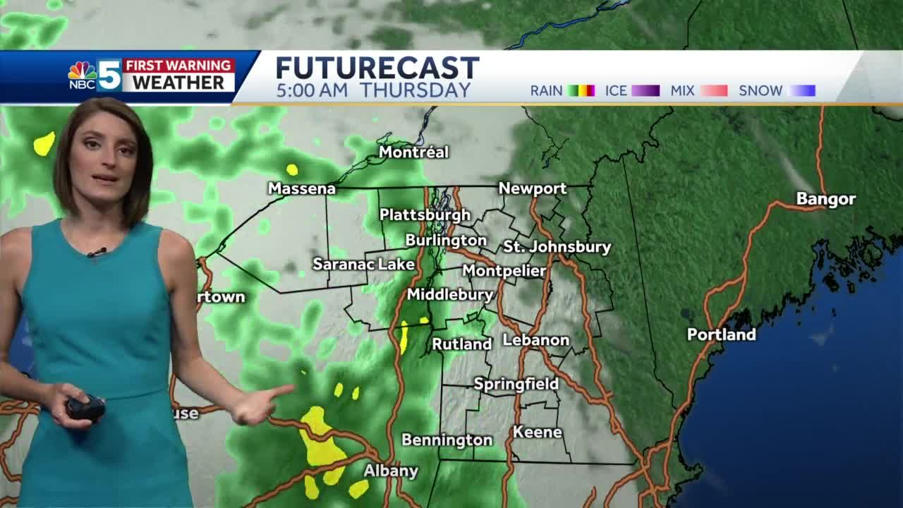 Video: Rain returns for the end of the week 4/13/21