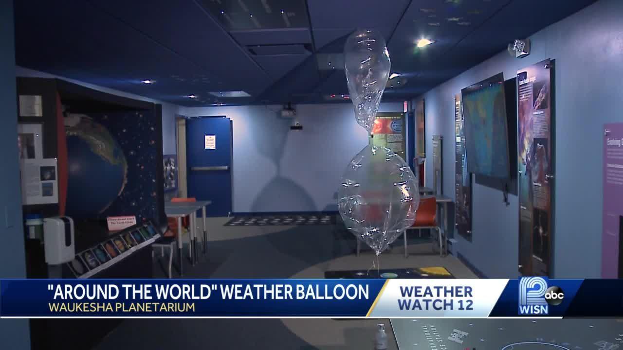 Weather balloon scheduled to travel around world