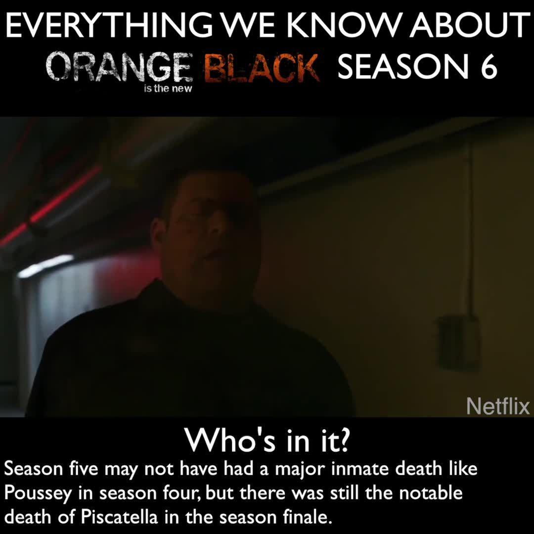 b28430ecfa72 Orange Is the New Black season 6 – Release date