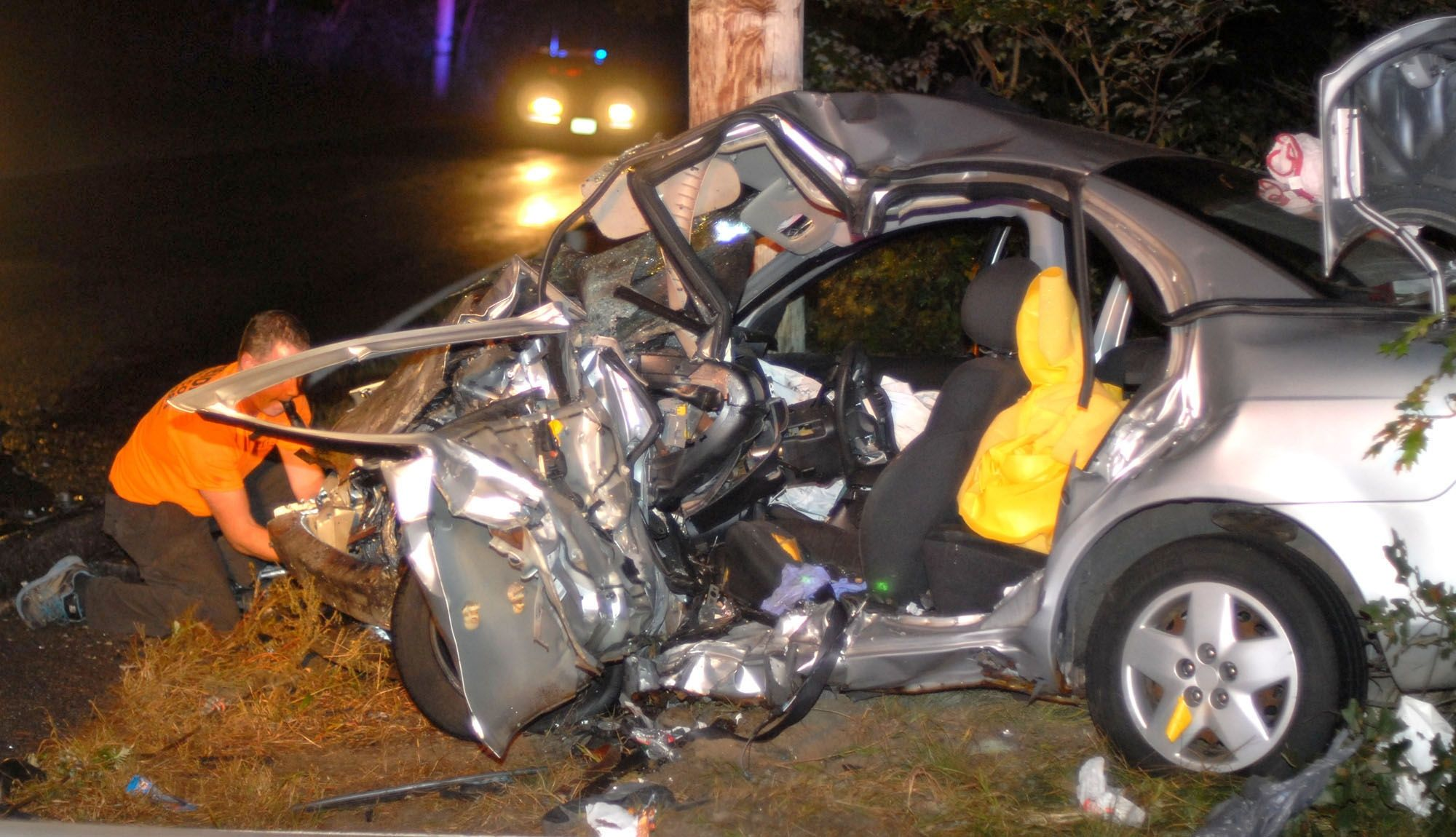Fatal head-on crash in Plymouth