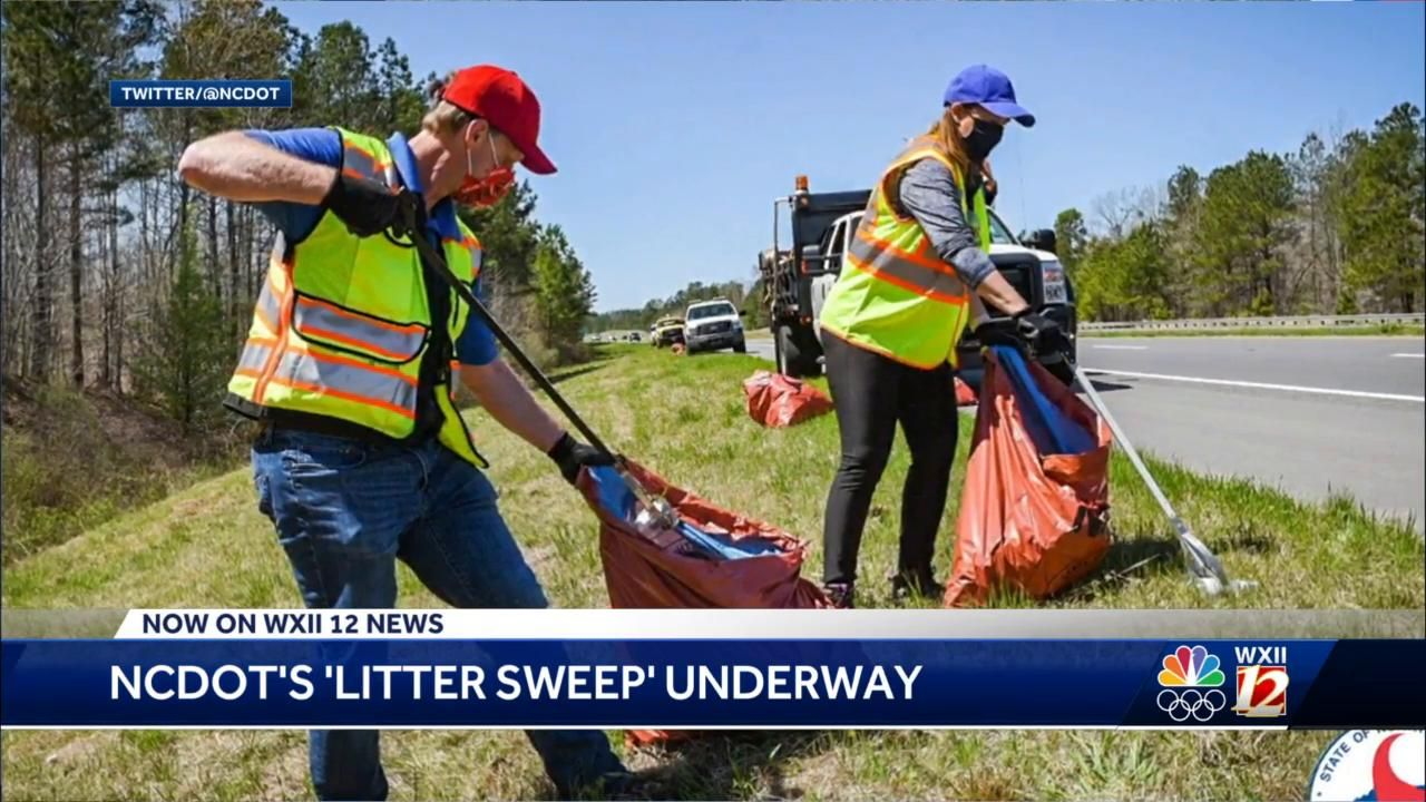 North Carolina litter sweep begins after more than a year