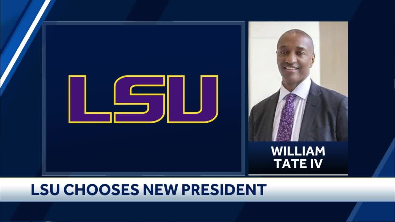 William Tate IV named next president of LSU, becoming first Black university president in SEC