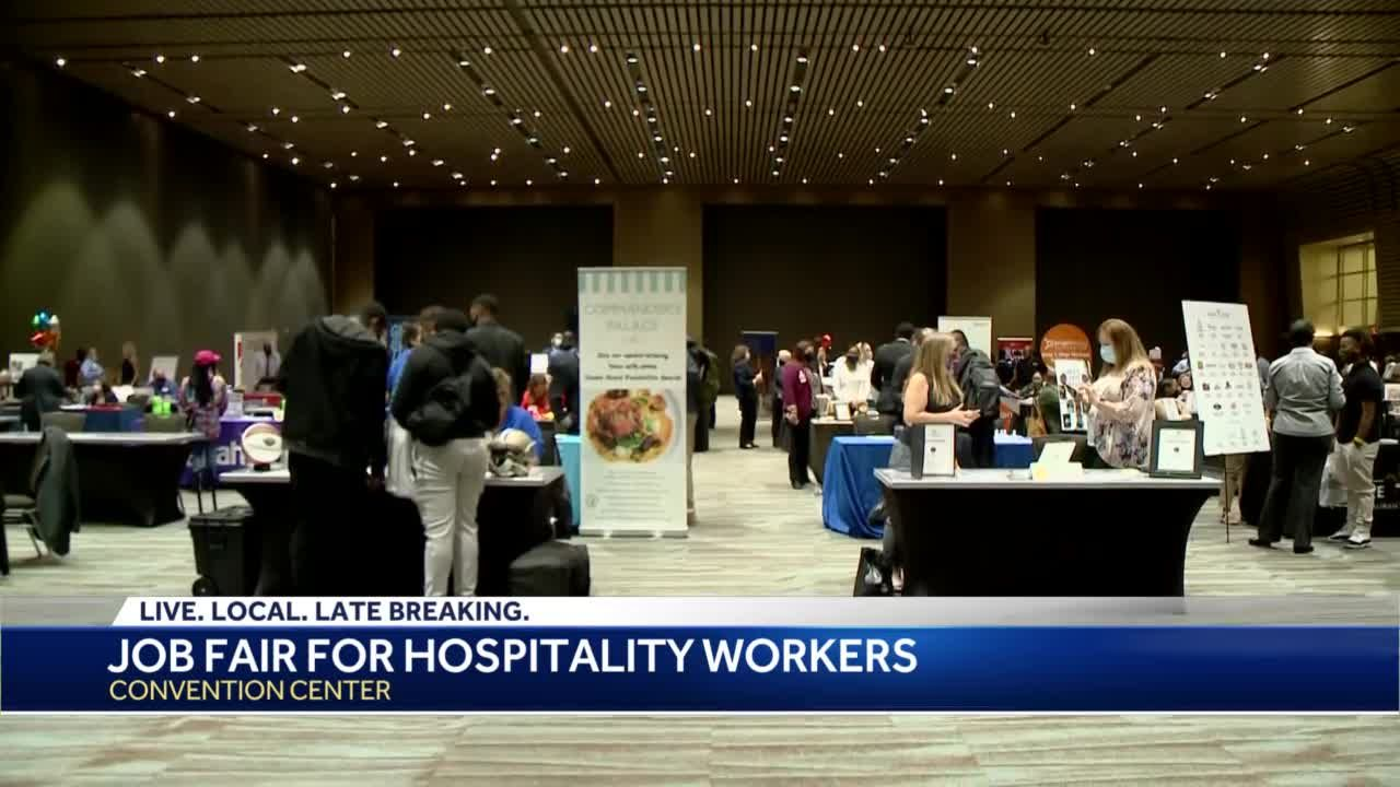 Job fair underway in New Orleans for hospitality workers