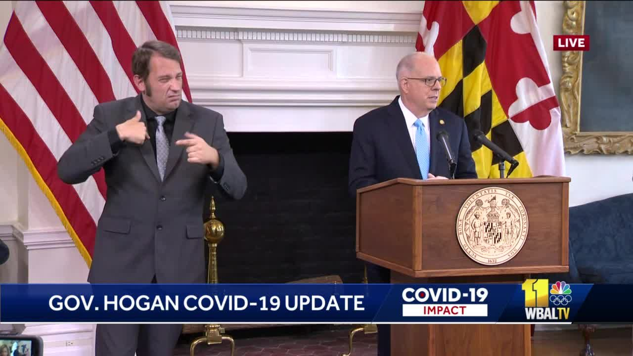 Raw: Hogan announces end to COVID-19 state of emergency