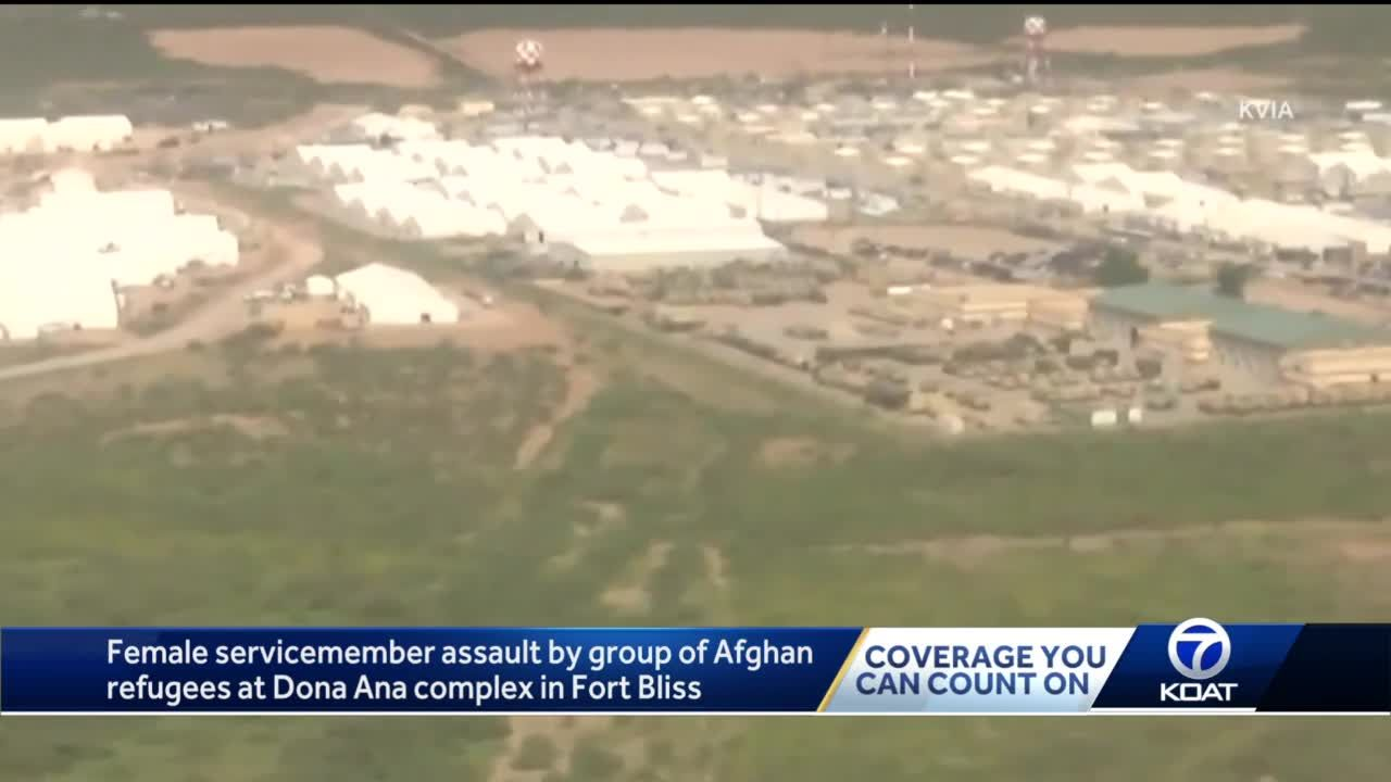 Female U.S. service member assaulted by male Afghan refugees at Fort Bliss