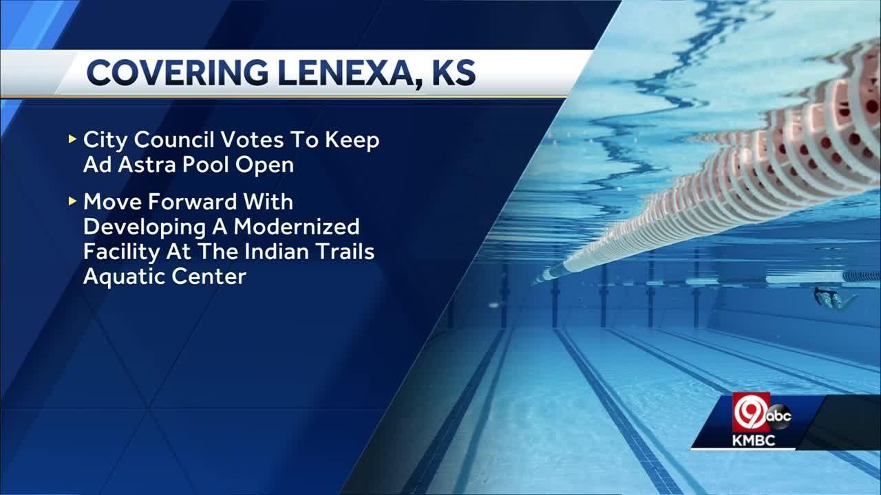 Lenexa will keep Ad Astra pool open