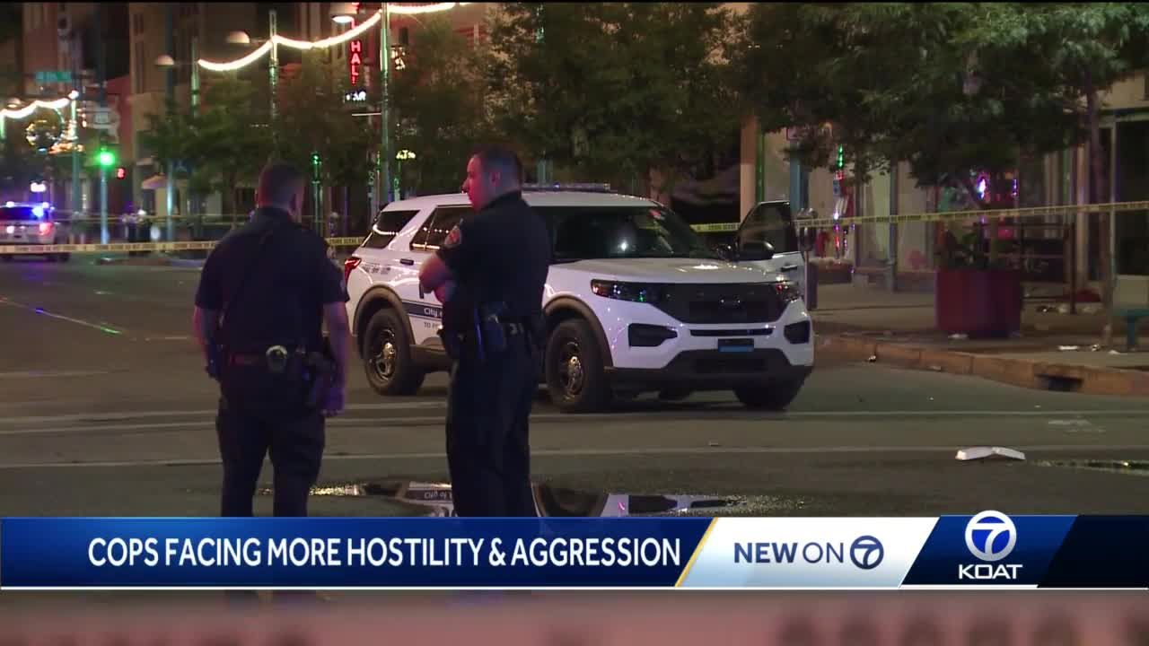 'We are starting to see those unprovoked attacks towards us': Cops seeing more aggression