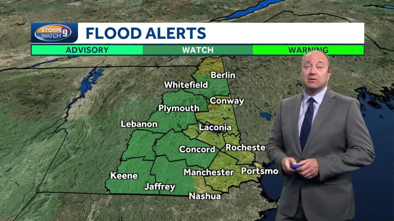 Video: Heavy rain tonight