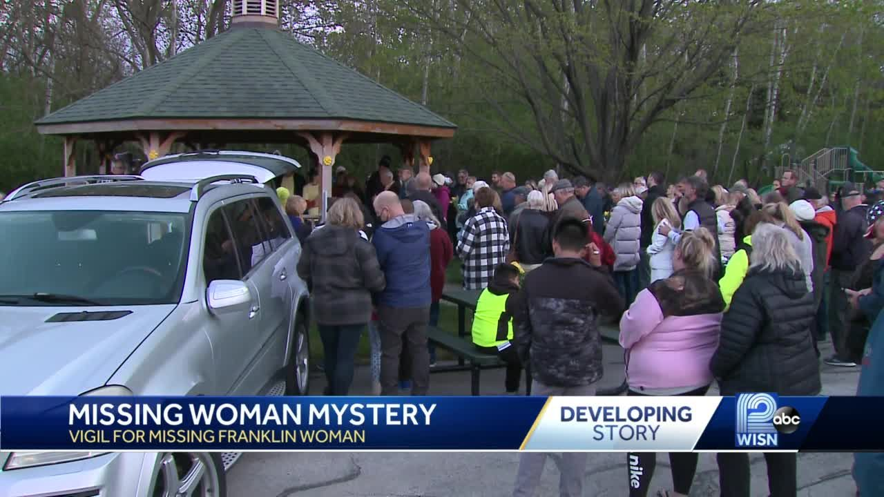 Vigil held for Franklin woman missing for 6 weeks