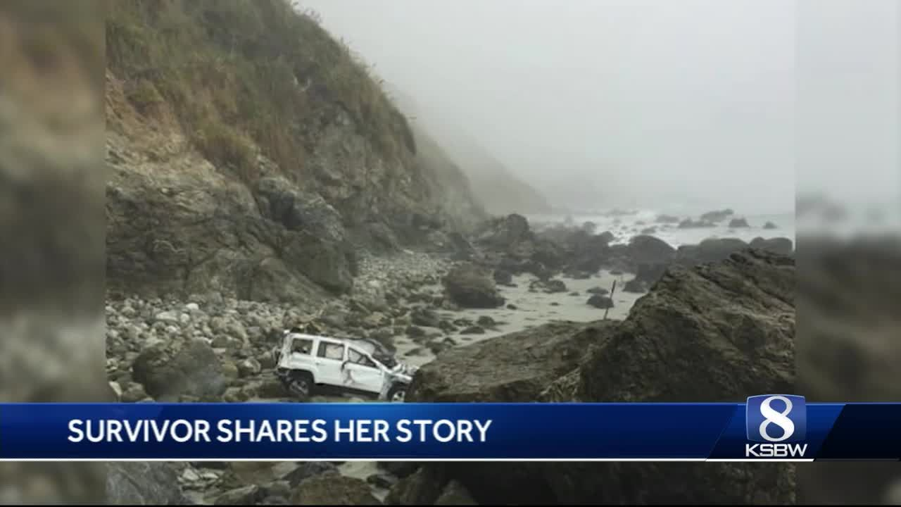 Amazing survival story: Woman who survived Big Sur crash releases pictures