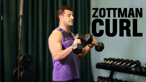 Mens' Health Zottman Curl