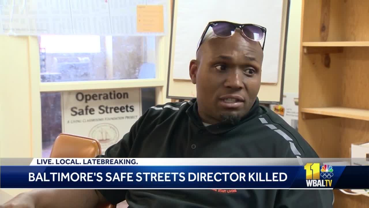 Safe Streets director killed in Baltimore shooting