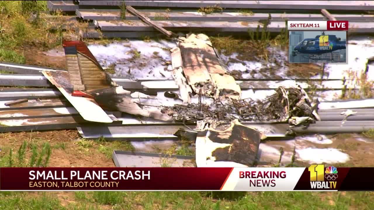 1 injured in plane crash outside of Easton Airport