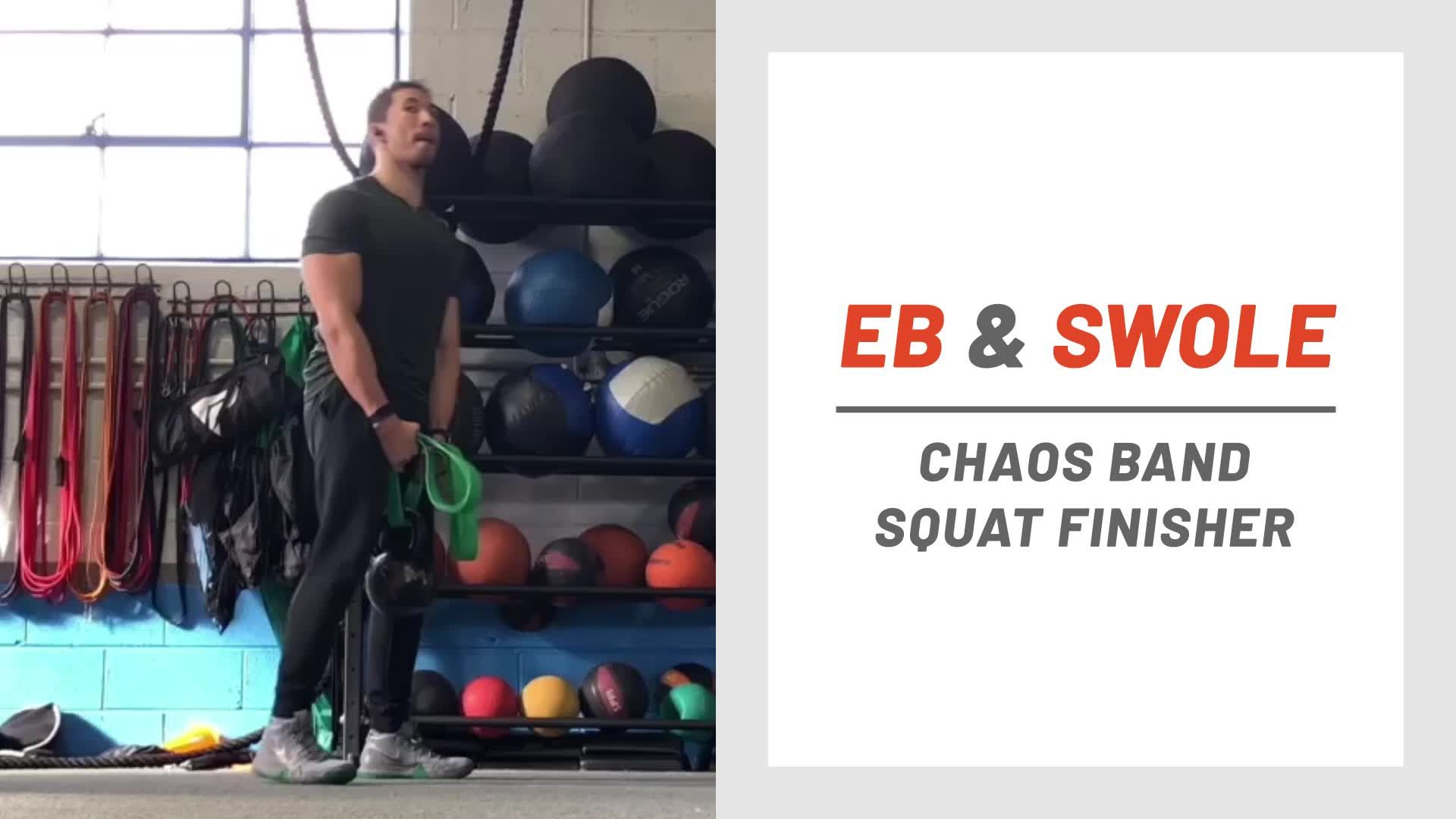 This Lower Body Finisher Uses a Dose of Chaos to Crush Your Legs