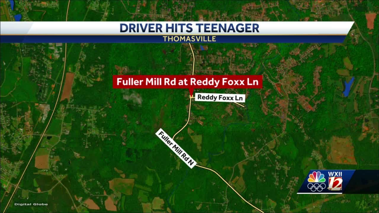 Randolph County deputies search for suspect who injured teenager in hit-and-run