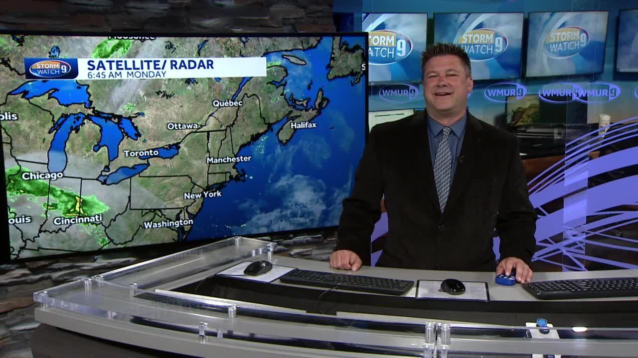 Watch: Sun, clouds on warmer day