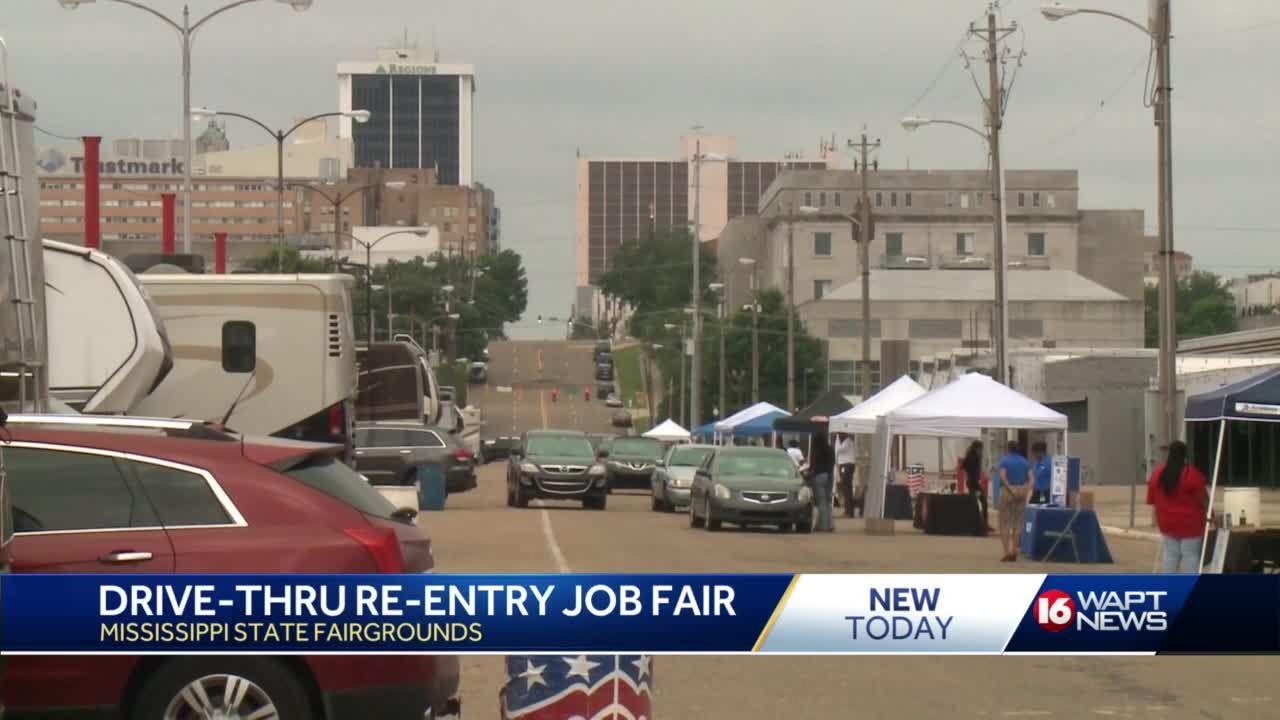 Reentry job fair held at fairgrounds
