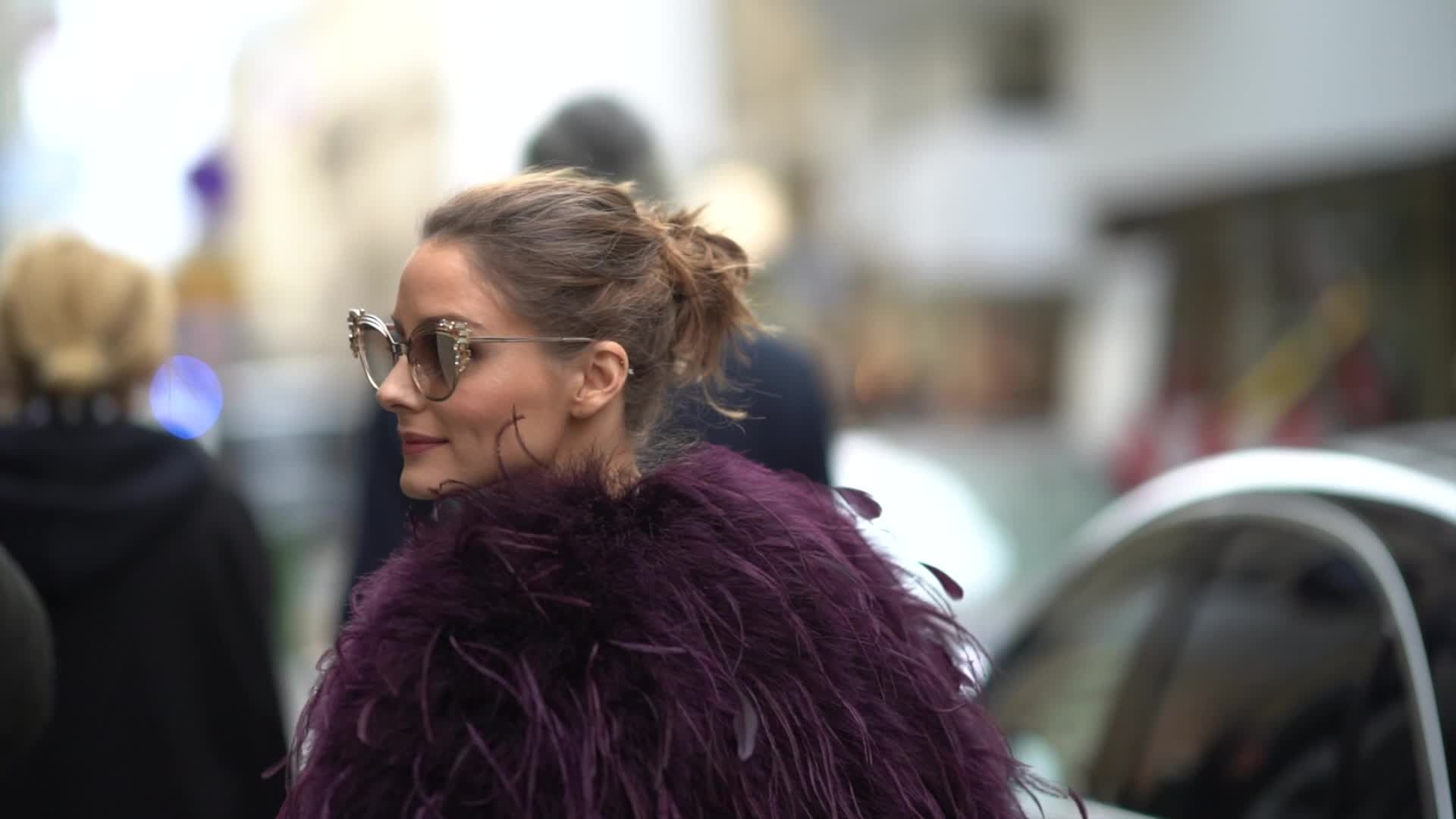 Olivia Palermo is collaborating with Karl Lagerfeld