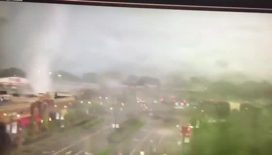 Video shows tornado passing through Beavercreek