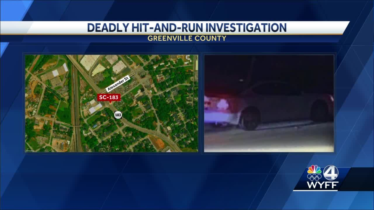 Greenville hit-and-run