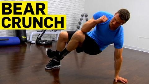 The Crunch That Works Every Muscle