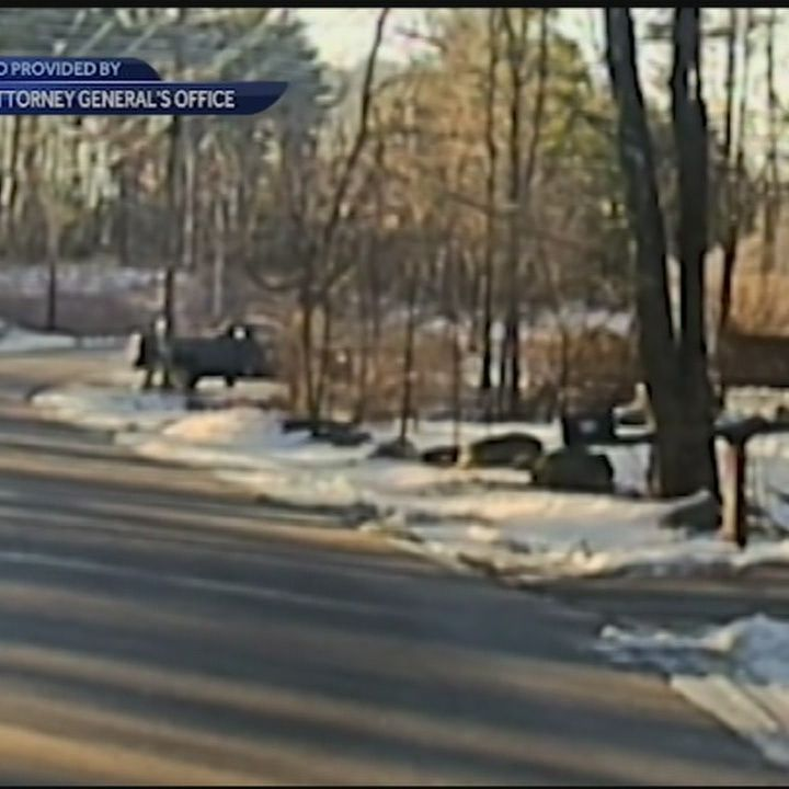 Dashboard camera video shows Derry officer-involved shooting in January
