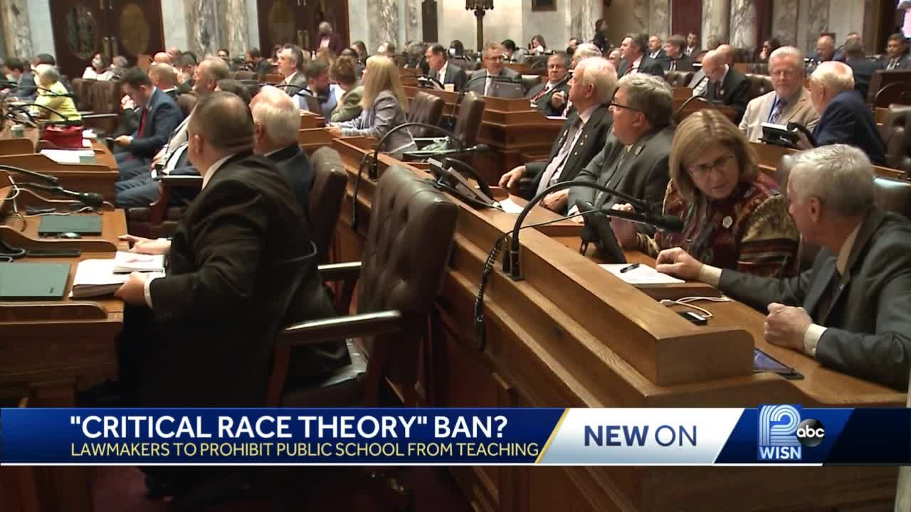 Assembly passes ban on critical race theory