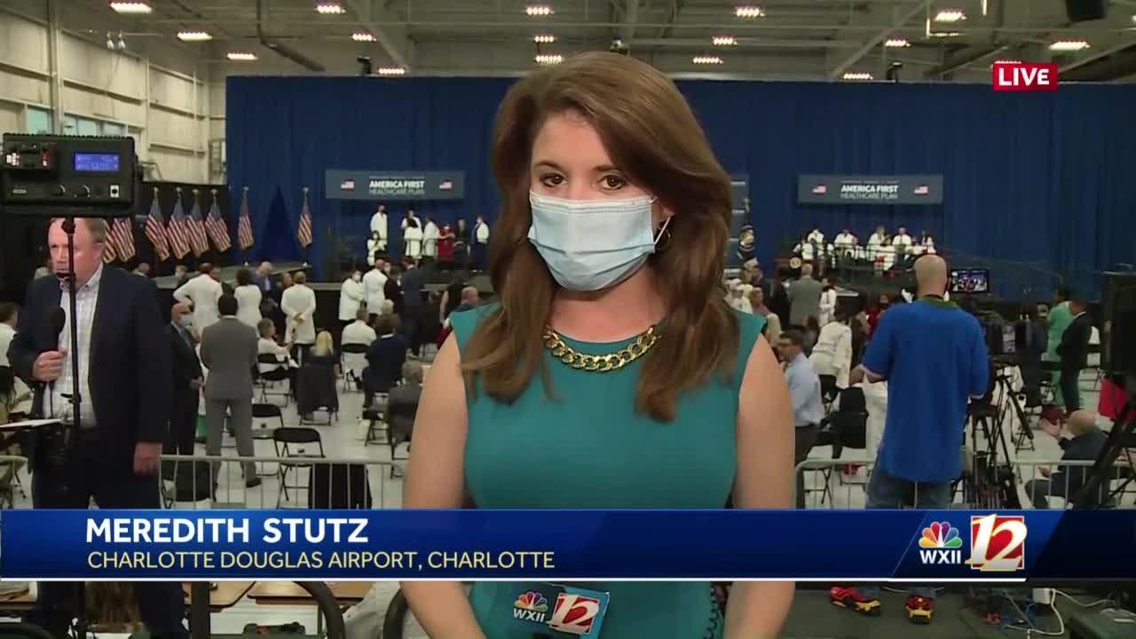 Charlotte hosting President Trump White House event on health care Thursday