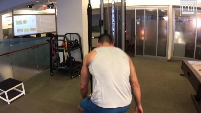 Light Up Your Arms, Chest, and Abs With This TRX Exercise