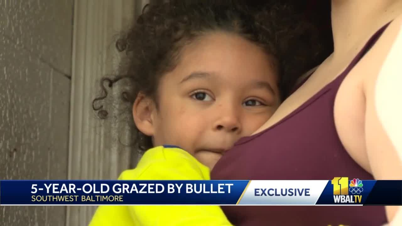Boy grazed by bullet released from hospital