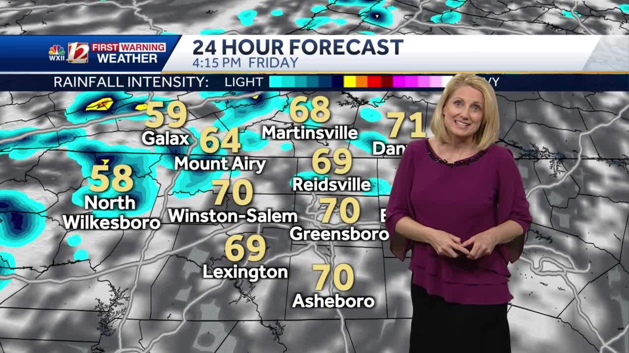 WATCH: Another Chilly Morning Plus Spotty Friday Afternoon Shower Chances!