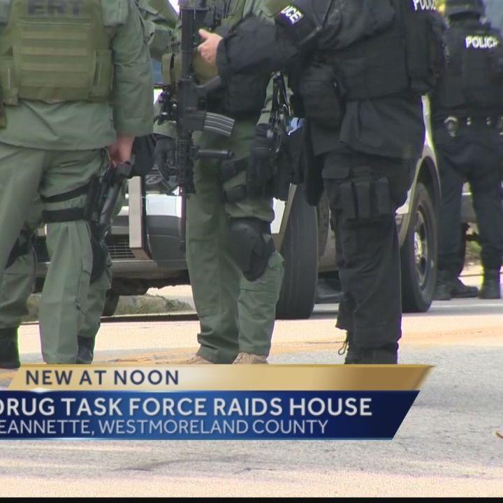 Police raid Jeannette home, find coke, AK