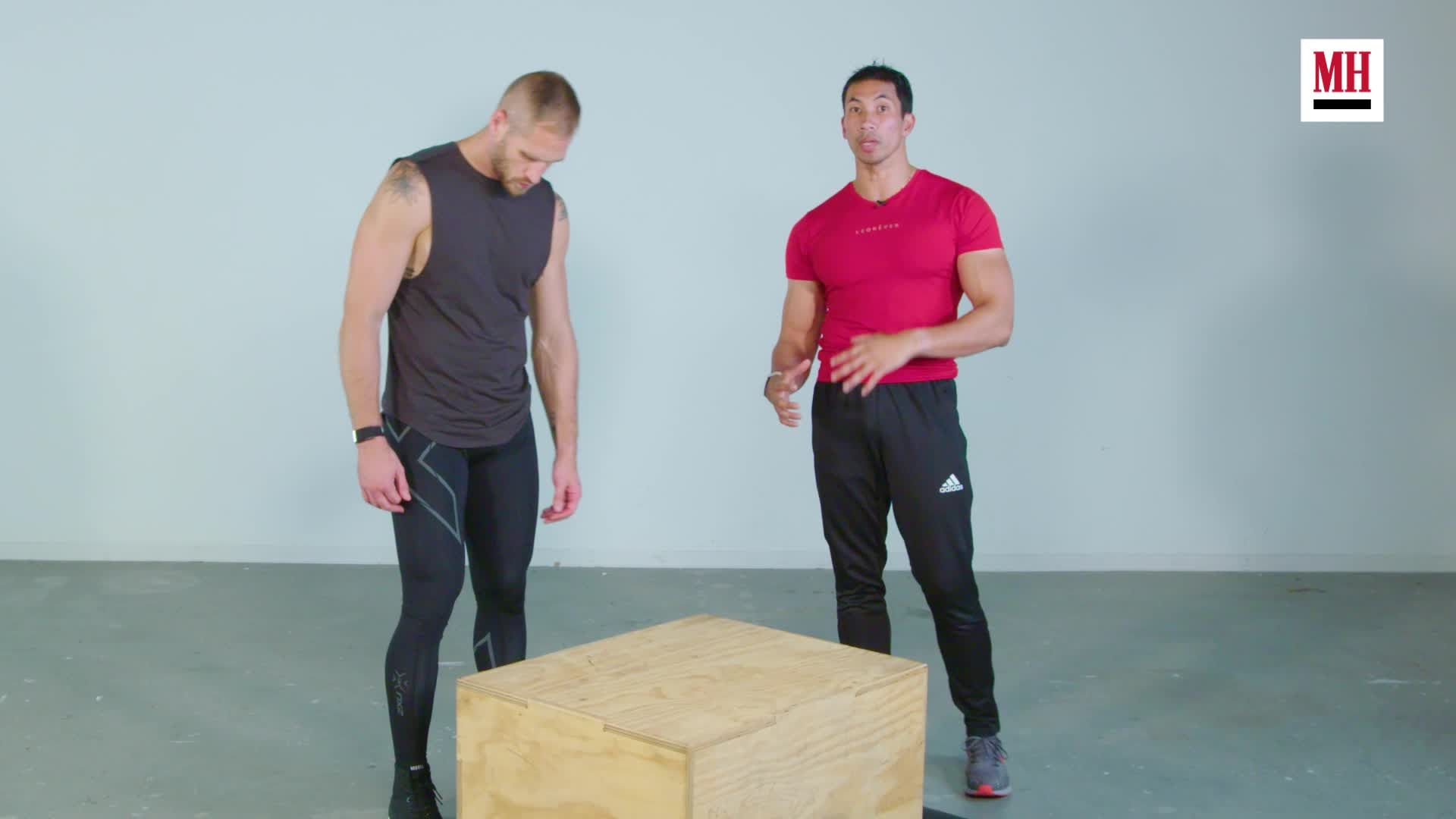 How step ups can build serious lower-body strength