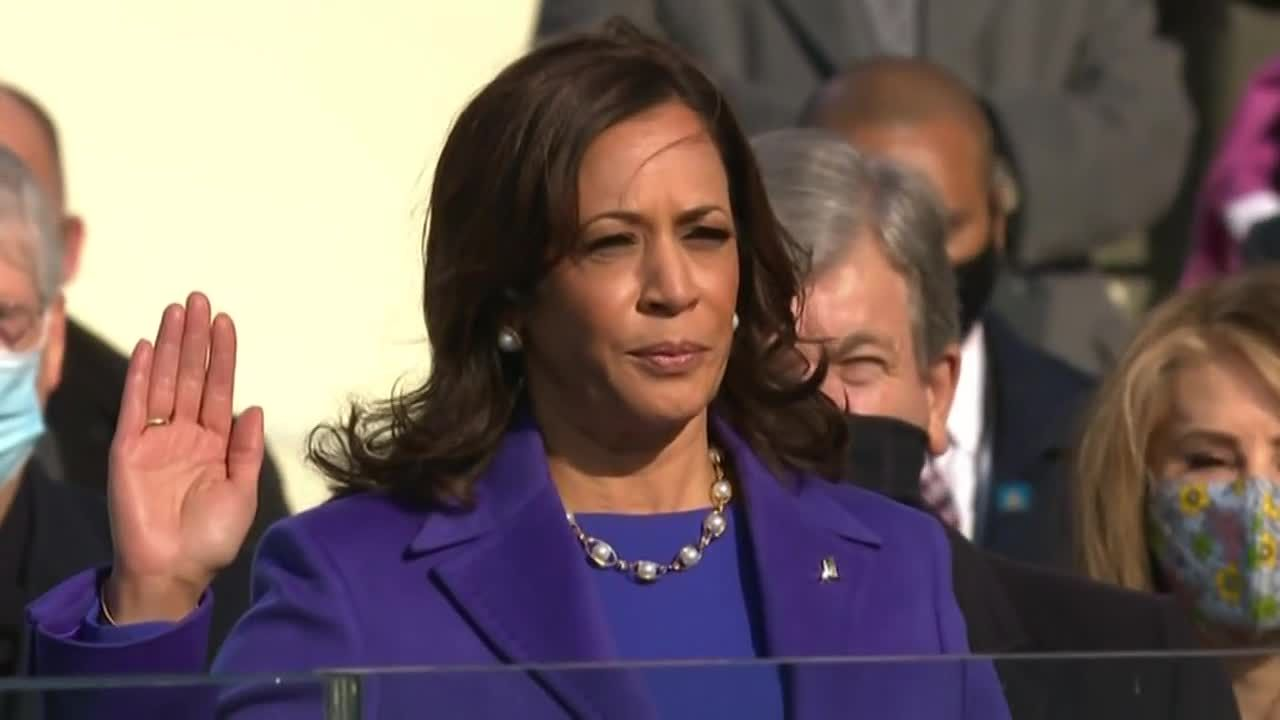 Vice President Harris' oath of office