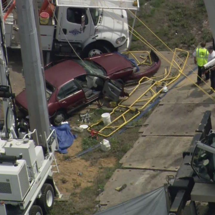 Raw video: 3 pedestrians killed in Lake County crash