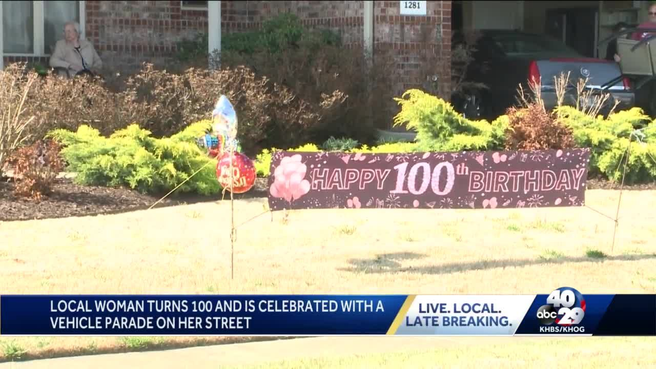 Prairie Grove celebrates woman's 100th birthday